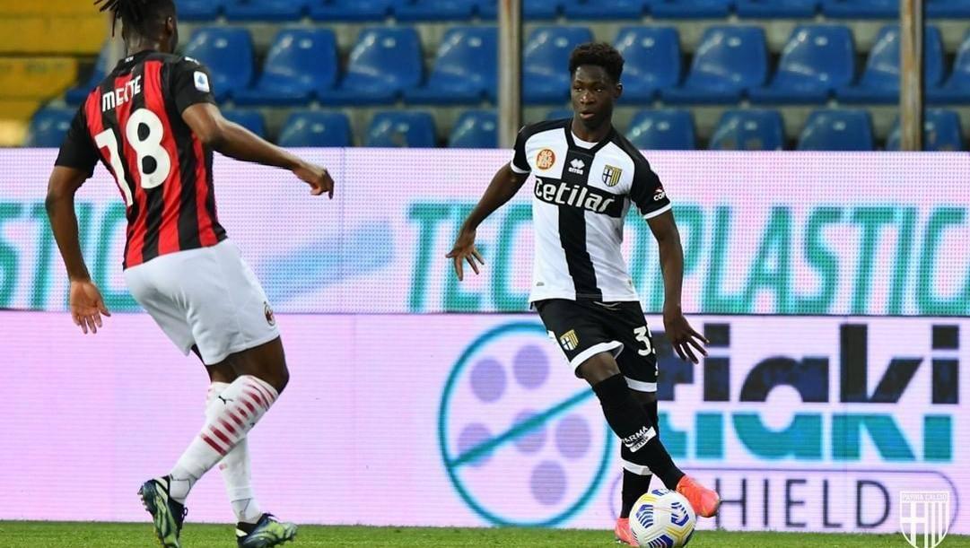Chaka Traoré, 16 anni. Foto dal sito Parma