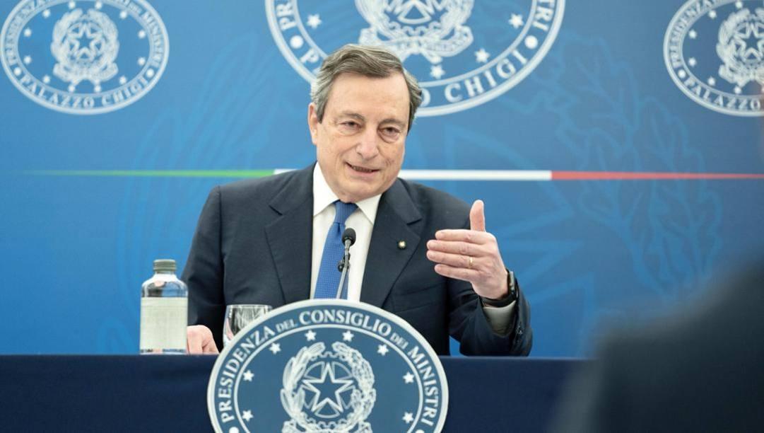 Mario Draghi, 73 anni. Ansa