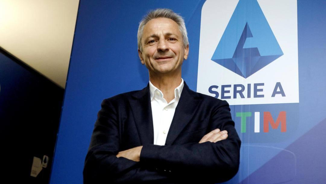 Paolo Dal Pino, presidente Lega A. Ansa
