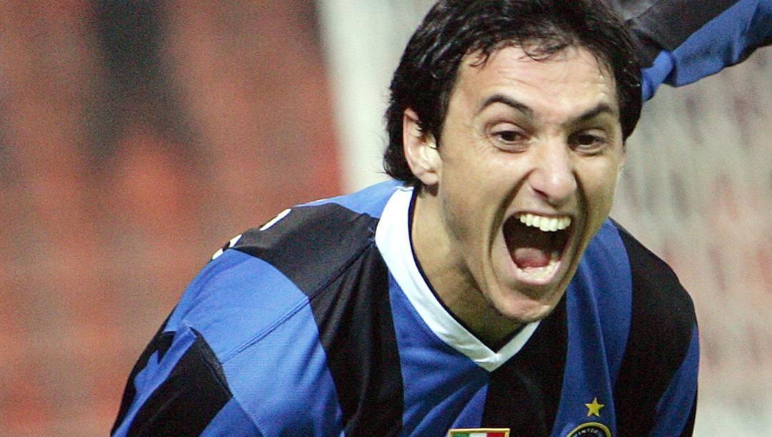 Nicolas Burdisso in maglia Inter. Ansa