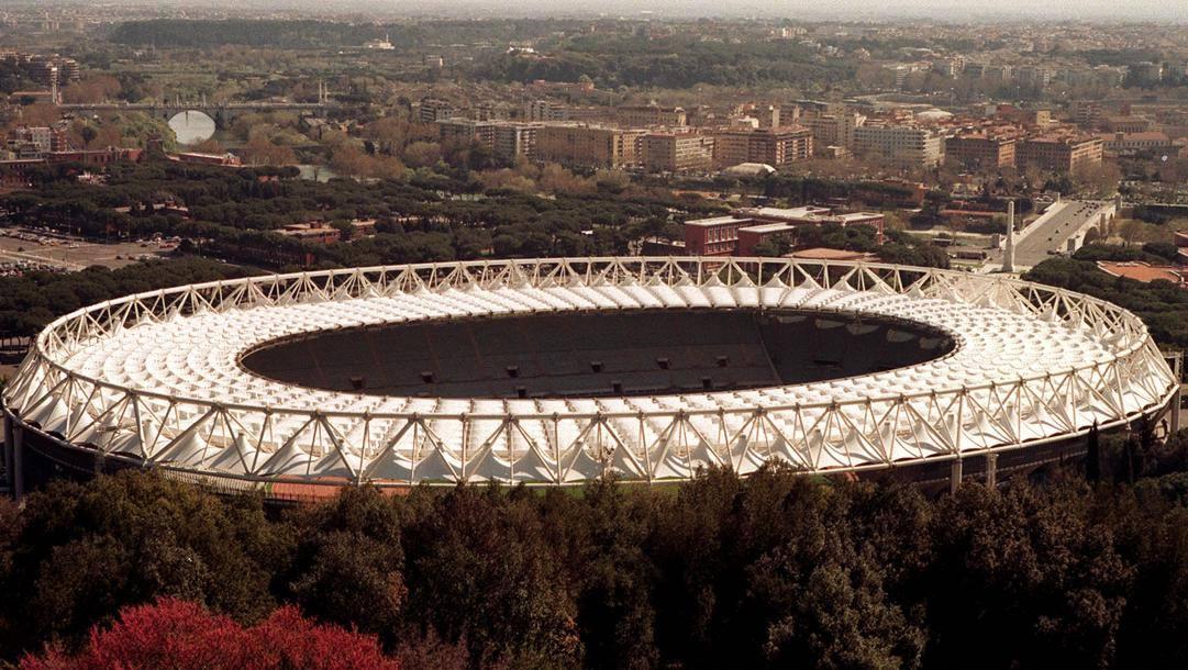 L'Olimpico di Roma. Ansa