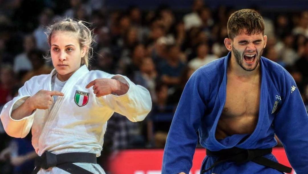 Odette Giuffrida (a sin.) e Manuel Lombardo