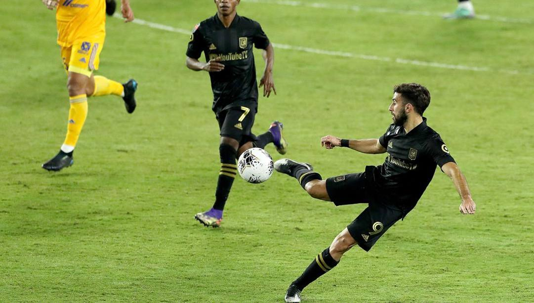 Diego Rossi dei Los Angeles Fc. Afp