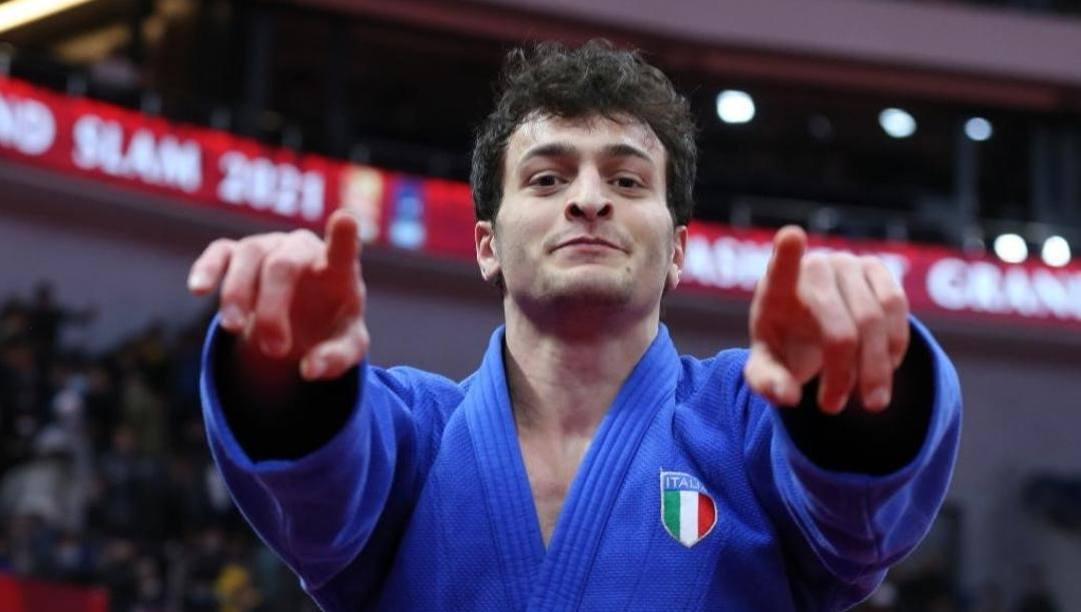Christian Parlati, 23 anni, bronzo agli Europei di Lisbona