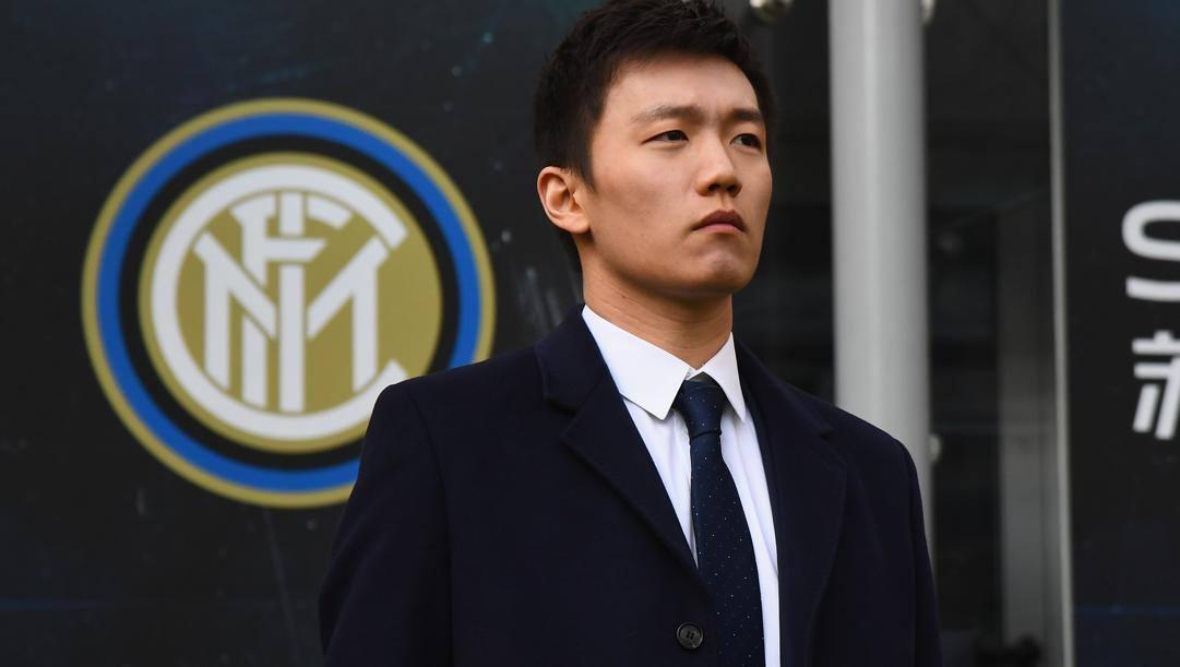 Il presidente dell'Inter Steven Zhang. Getty