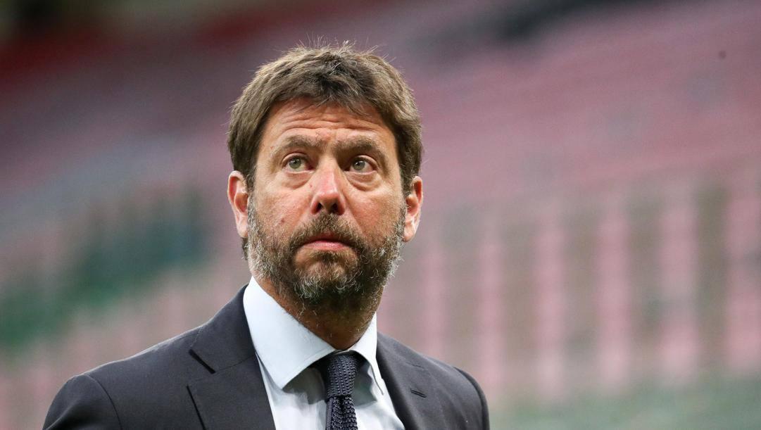 Andrea Agnelli (45 anni), presidente della Juventus. ANSA