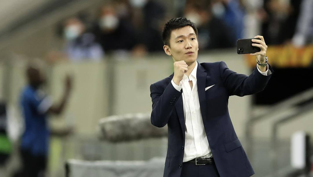 Steven Zhang, 29 anni, presidente dell'Inter. AP