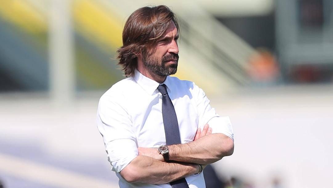 Andrea Pirlo, tecnico della Juventus. Getty Images
