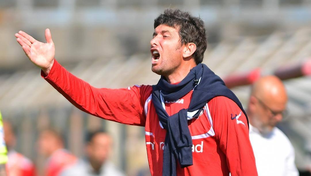 Giacomo Gattuso, allenatore del Como. Lapresse