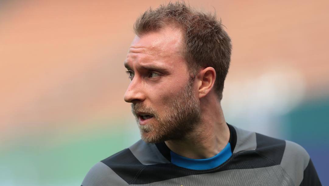 Christian Eriksen (29 anni), seconda stagione con la maglia dell'Inter. In carriera ha giocato anche con Middelfart, Odense, Ajax e Tottenham. È il leader della nazionale danese. GETTY IMAGES