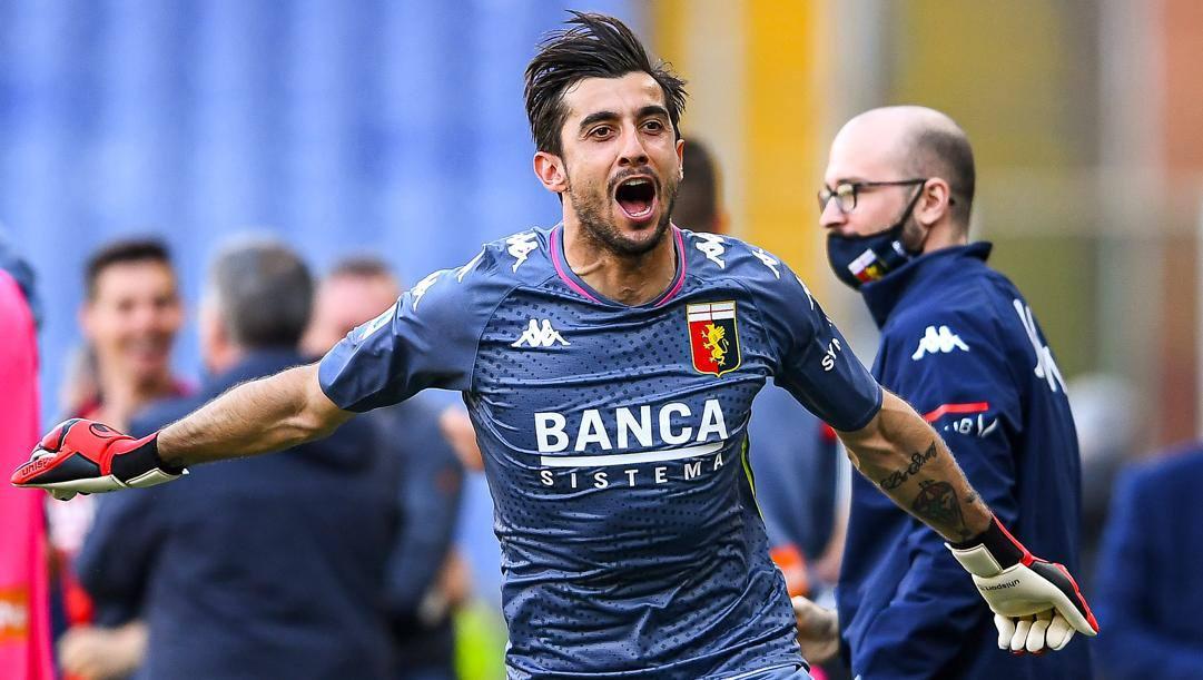 Mattia Perin (28 anni), contro il Benevento ha fatto 200 presenze in Serie A. Getty Images