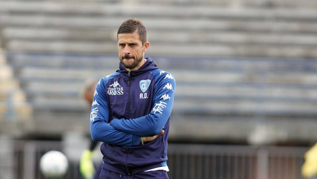 Alessio Dionisi, 41 anni, prima stagione sulla panchina dell'Empoli. LaPresse