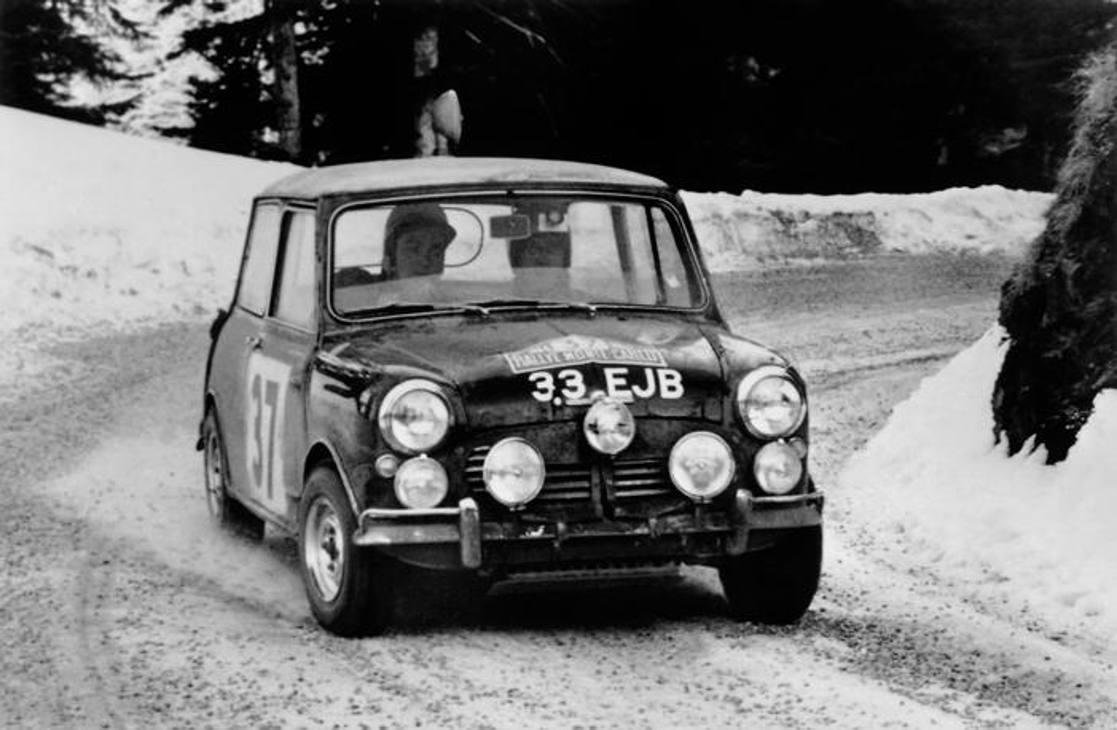 MINI Cooper S al Rally di Montecarlo