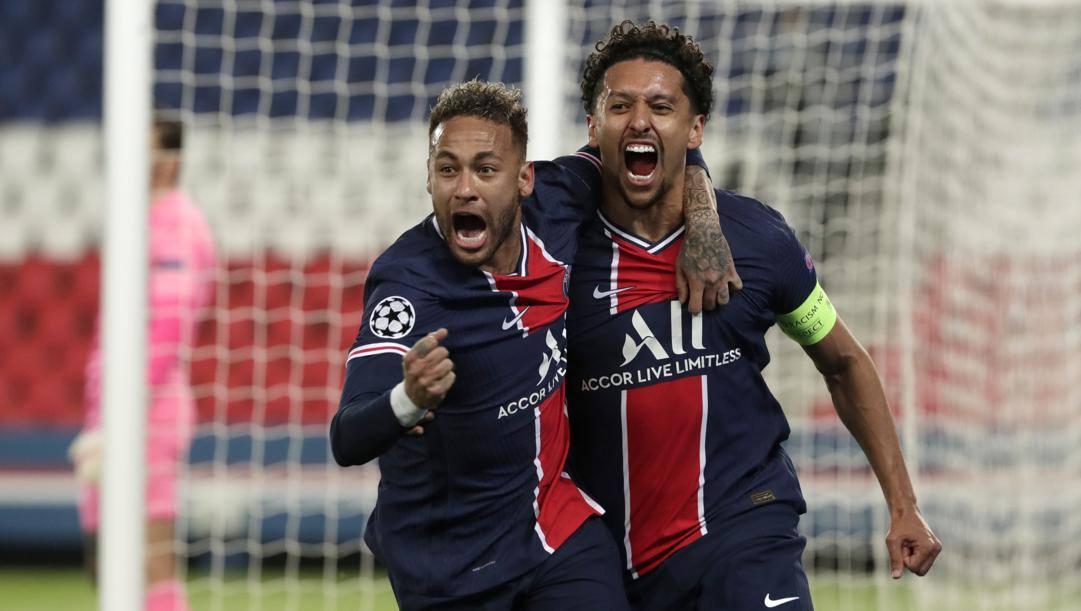 Neymar e Marquinhos. Lapresse