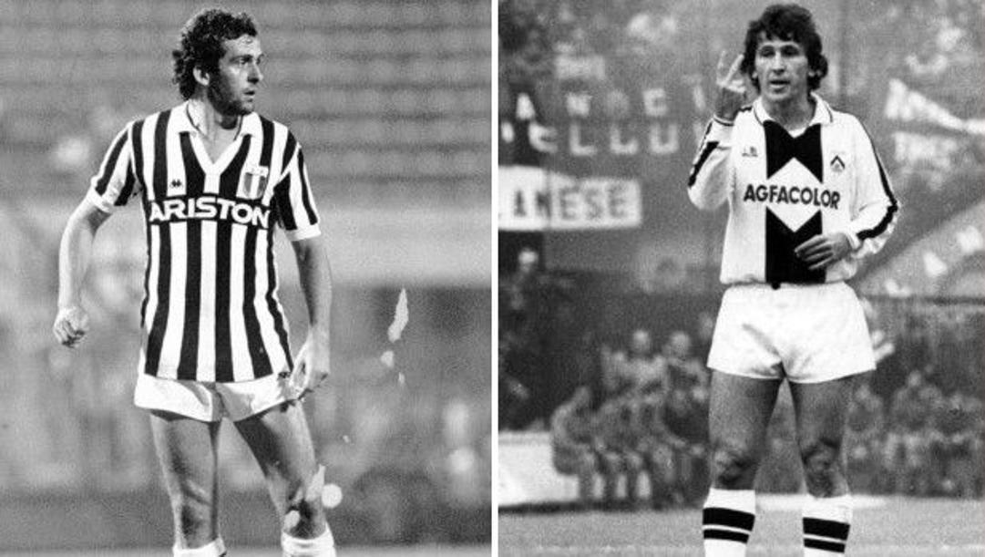 A sinistra Michel  Platini (65 anni) e a destra Zico (68 anni)
