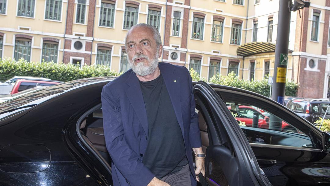 Aurelio De Laurentiis, 71 anni. Imago