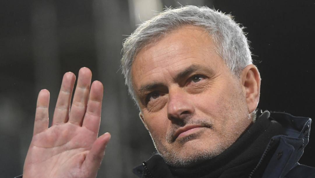 José Mourinho (58 anni), reduce dall'esperienza con il Tottenham e neo allenatore della Roma. EPA
