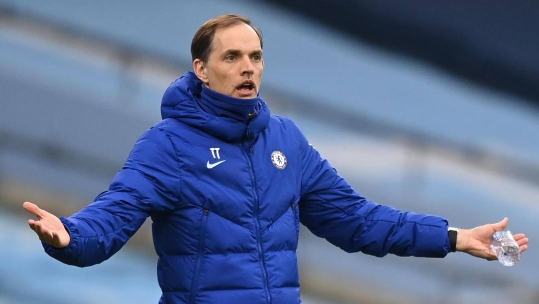 Thomas Tuchel, allenatore del Chelsea. Epa
