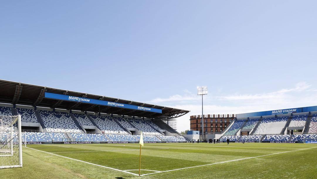 Il Mapei Stadium di Reggio Emilia (ANSA)