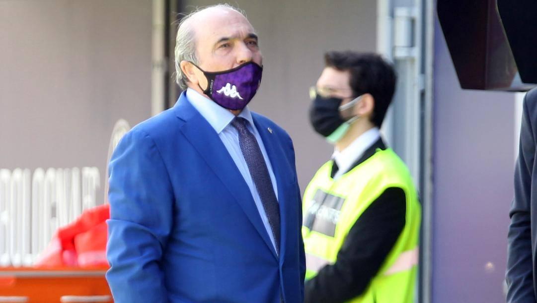 Rocco Commisso, 71 anni, ha acquistato la Fiorentina nel 2019. LaPresse