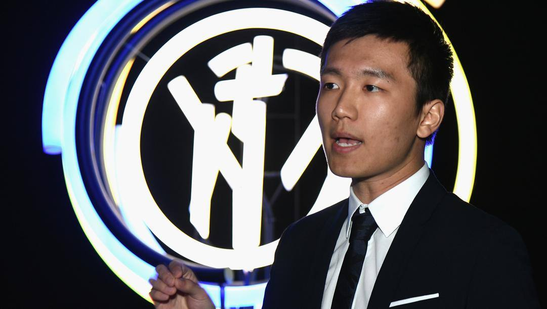 Steven Zhang (29 anni), presidente dell'Inter. GETTY IMAGES