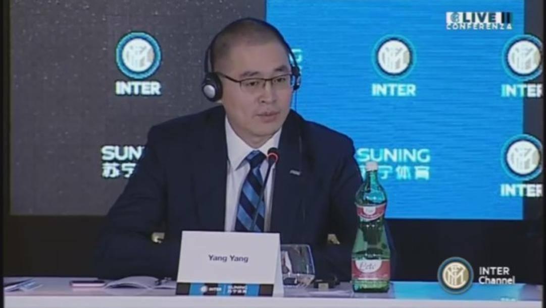 Yang Yang è nel Cda dell'Inter
