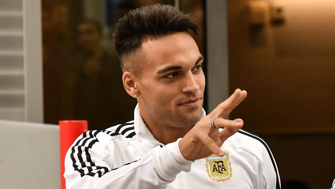 Lautaro Martinez (classe 1997), bomber dell'Inter e della Nazionale argentina. AP
