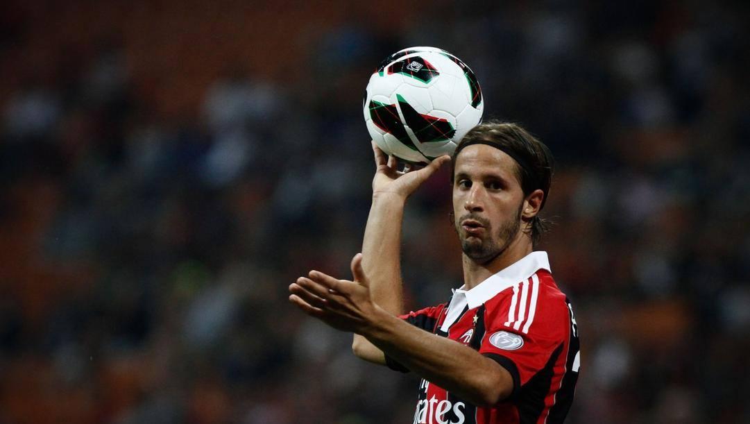 Luca Antonini, 38 anni, al Milan dal 2008 al 2013. LaPresse