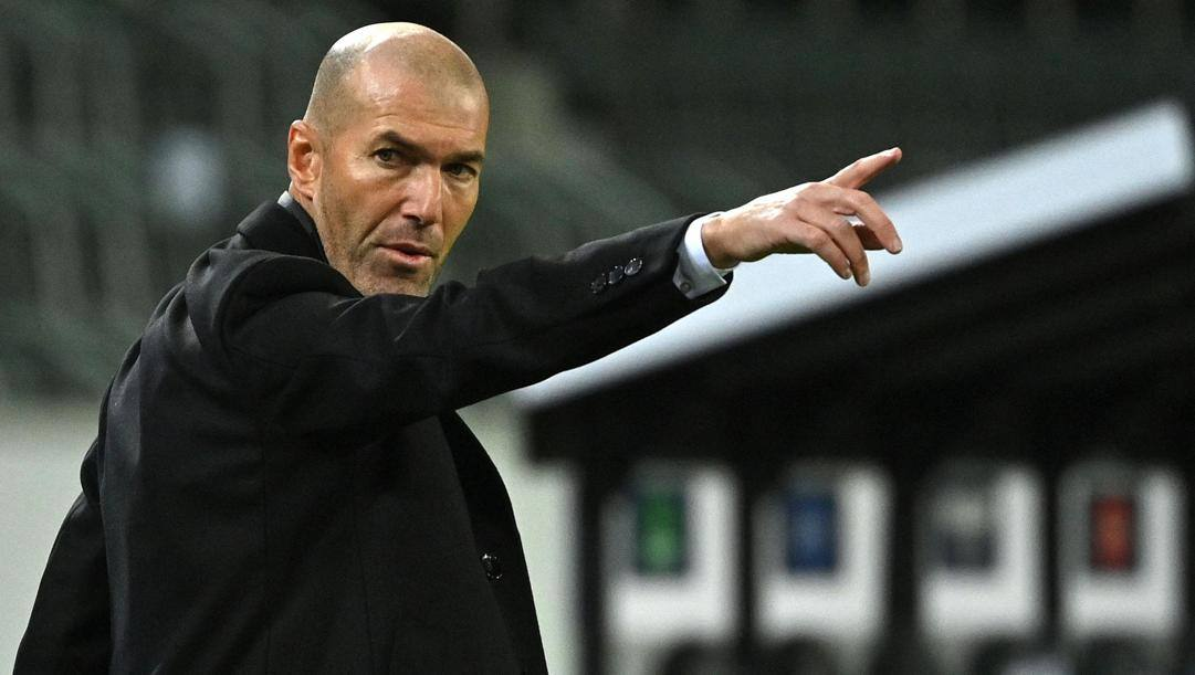 Zinedine Zidane. Afp