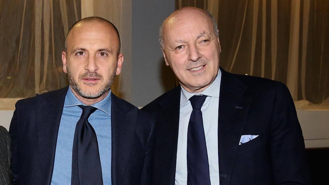 Gli uomini mercato Inter, Piero Ausilio e Beppe Marotta. Getty