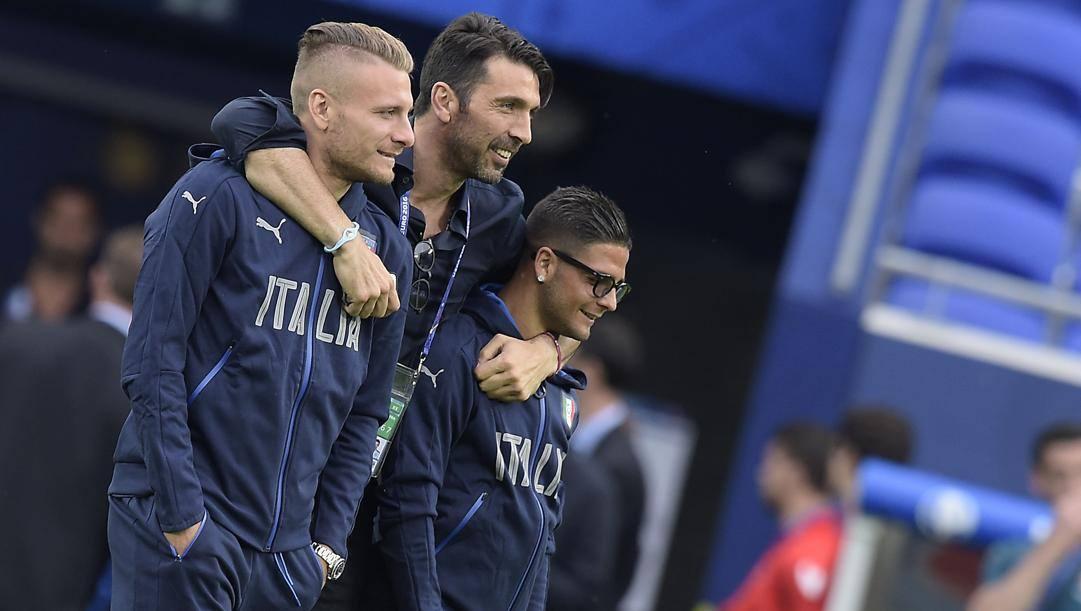 Immobile, Buffon, Insigne all'Europeo 2016