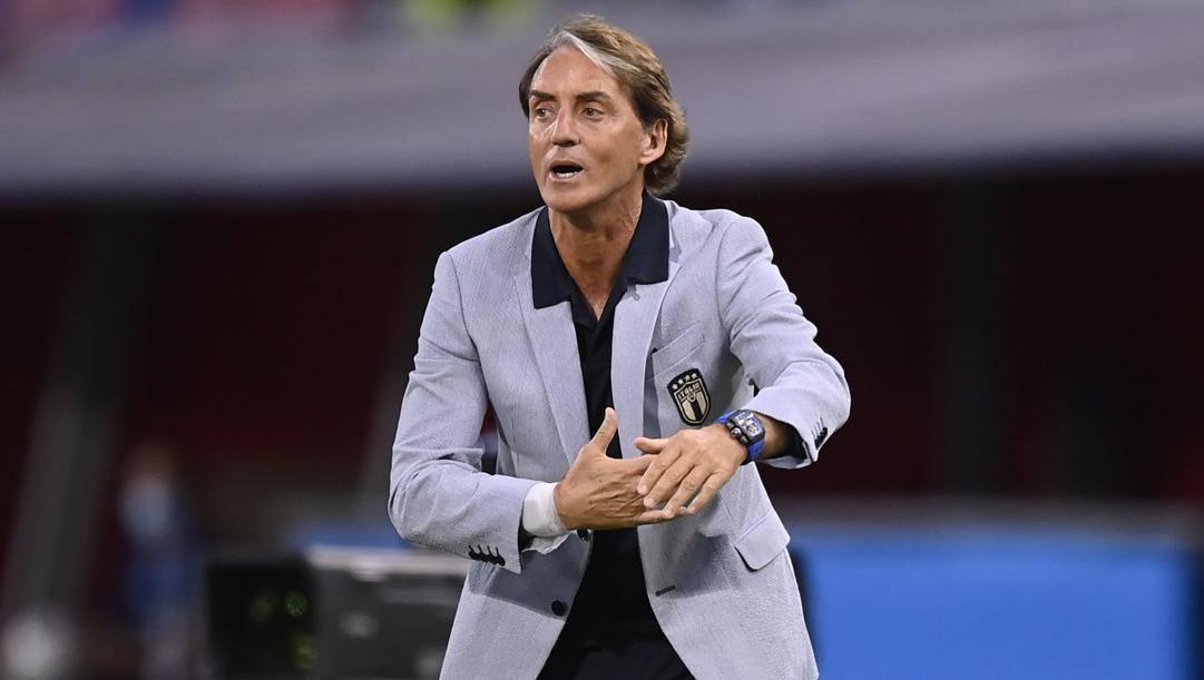 Il c.t. degli azzurri Roberto Mancini, 56 anni. LaPresse