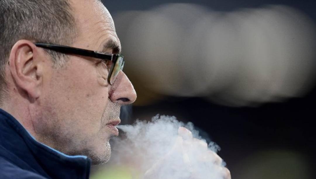 Maurizio Sarri, 62 anni. Lapresse
