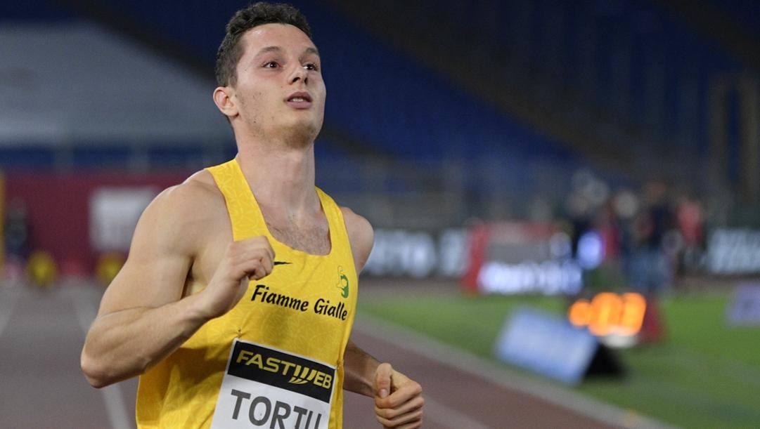 Filippo Tortu, 23 anni. LaPresse
