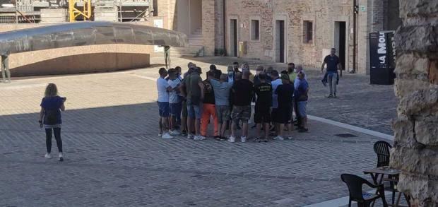 Gli ultras dell'Ancona hanno chiesto garanzie a Canil prima dell'incontro