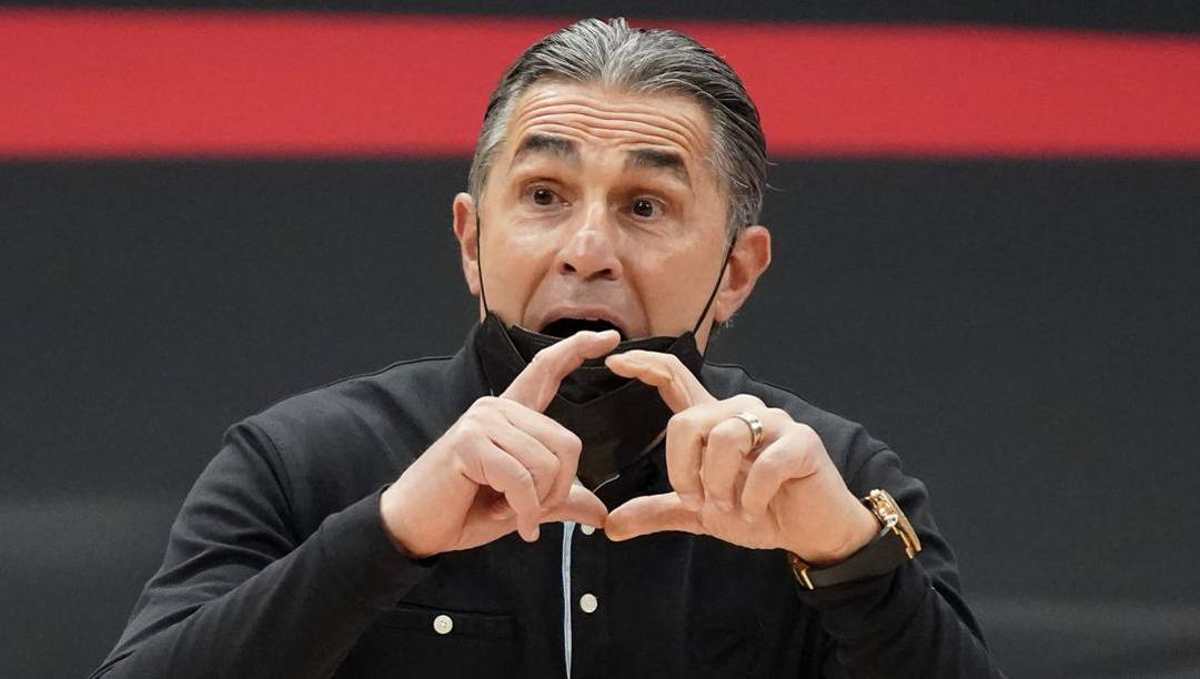 Sergio Scariolo, 60 anni, sta per tornare ad allenare in Italia per la prima volta dal 2013. Ap