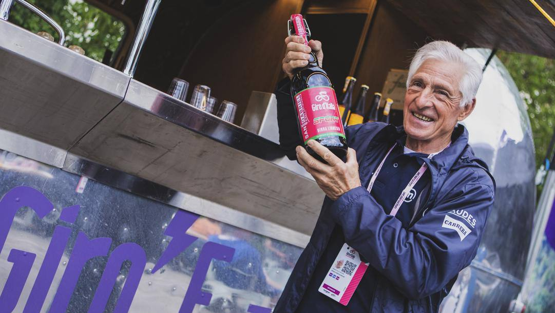 Ciclismo e vino, le grandi passioni di Francesco Moser. Lapresse