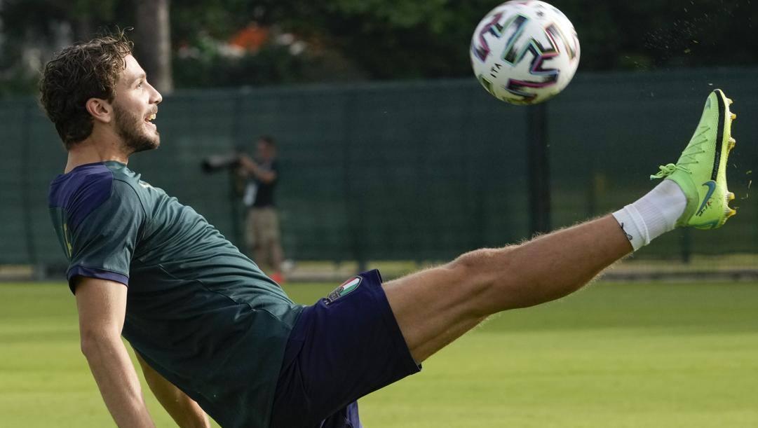 Manuel Locatelli (23 anni), centrocampista del Sassuolo e della Nazionale italiana. LAPRESSE
