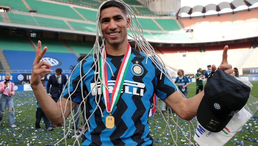 Achraf Hakimi (22 anni), esterno dell'Inter e della nazionale marocchina. GETTY IMAGES
