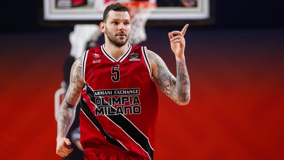 Vlado Micov, 36 anni, lascia Milano dopo 4 stagioni. Ciam/Cast