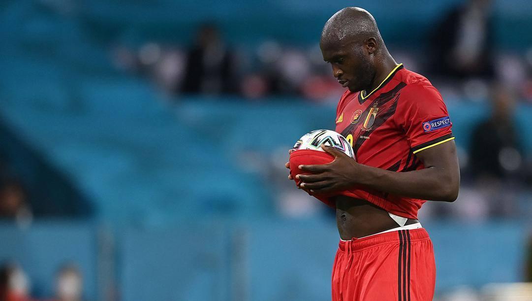 Romelu Lukaku (28 anni), è il miglior bomber nella storia del Belgio con 64 gol in 98 presenze. AFP