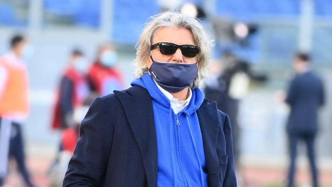 Massimo Ferrero, 69 anni (LAPRESSE)