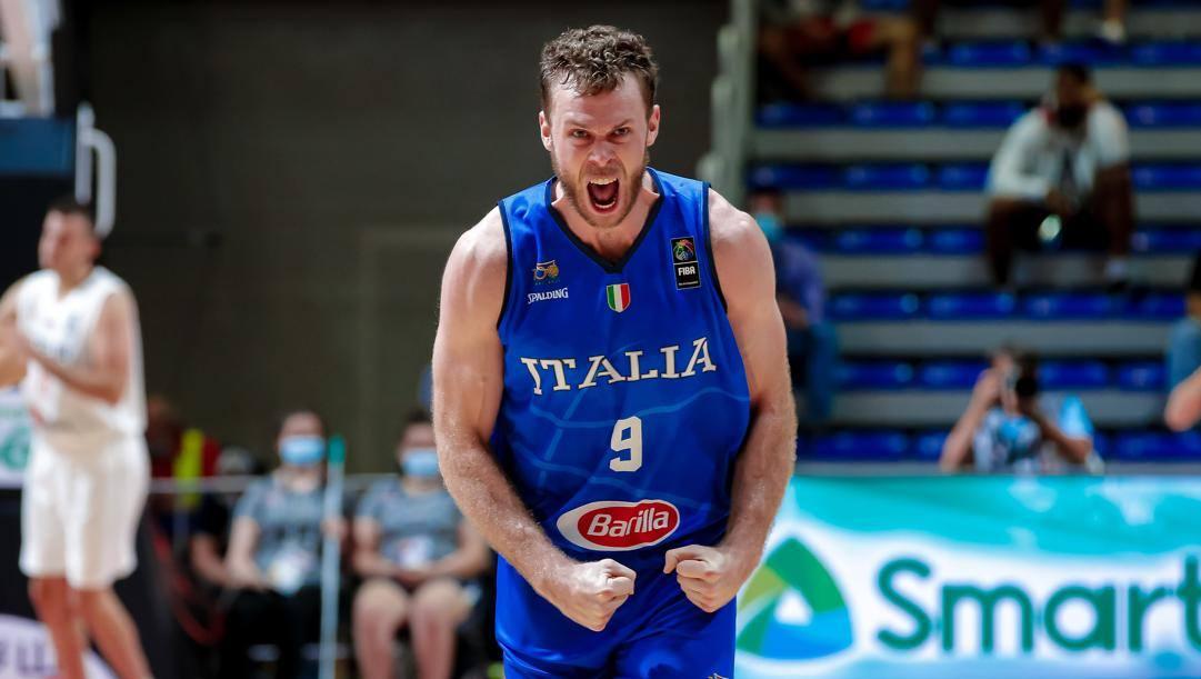 Nicolò Melli, 30 anni, vicino al ritorno in Italia dopo due stagioni in Nba. Ciam/Cast