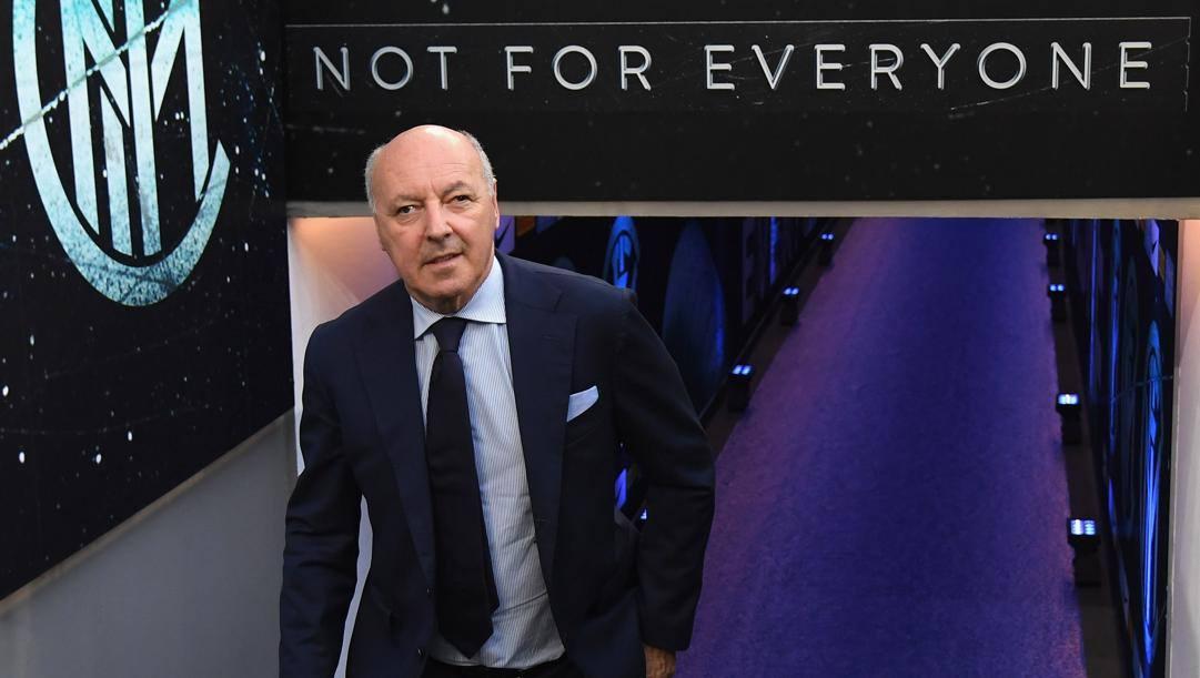 Giuseppe Marotta (64 anni), amministratore delegato dell'Inter per l'area sportiva dal 13 dicembre 2018. GETTY IMAGES