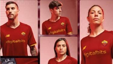 Roma, sponsor e nuova maglia. Posa capitan Pellegrini - La ...
