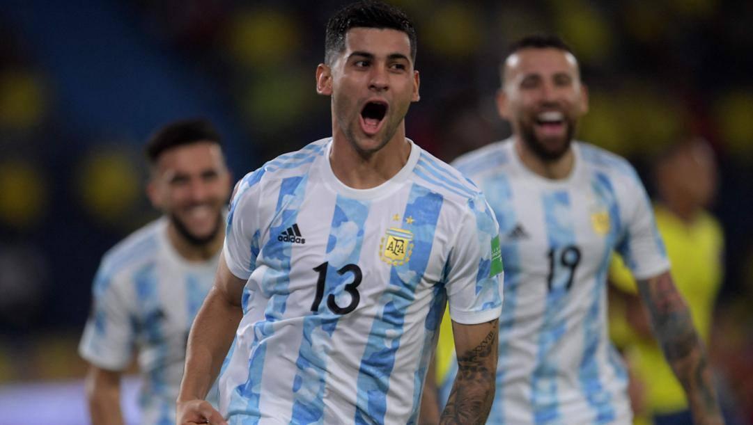 Cristian Romero (23 anni), difensore dell'Atalanta e della nazionale argentina. AFP