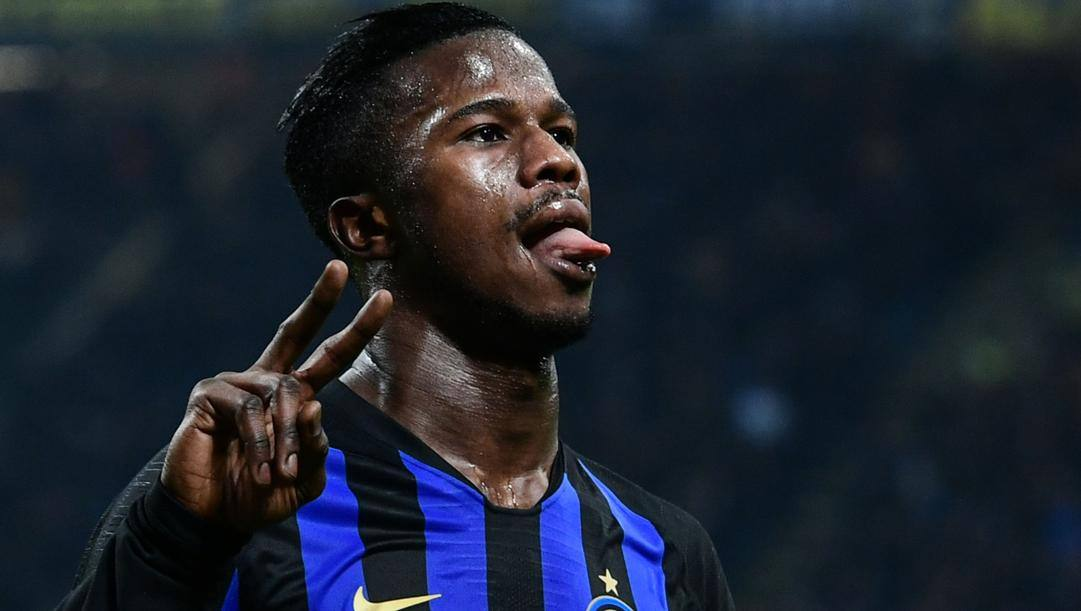 Keita Baldé Diao (26 anni), attaccante del Monaco e della nazionale senegalese, ha giocato nell'Inter nella stagione 2018-19: 29 presenze ufficiali, 5 gol e 2 assisti considerando tutte le competizioni. AFP