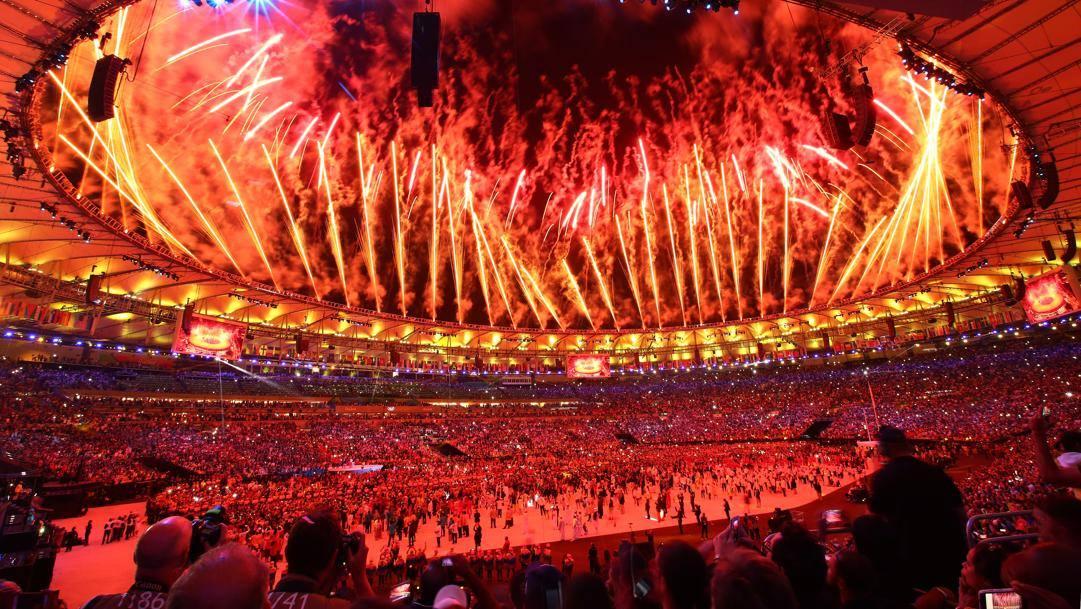 La cerimonia di Rio 2016. Getty