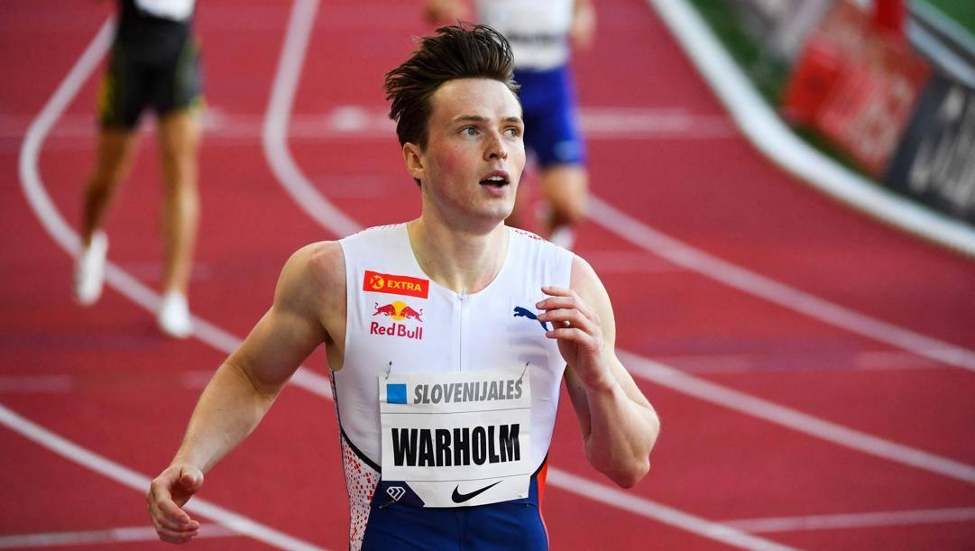 Karsten Warholm, 25 anni. Afp