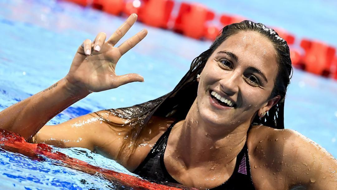 Simona Quadarella, 22 anni. Inside